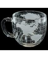 Nescafe Nestle World Globe Coffee Mug Glass Dri... - $6.00