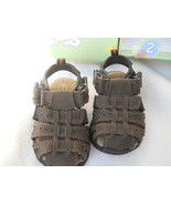 Teeny Toes Brown Fisherman Sandals Size 2 Toddl... - $14.99
