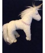 Douglas Sunbeam White Unicorn Plush Stuffed Ani... - $29.98