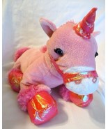 Kellytoy Hot Pink Unicorn Plush Stuffed Animal ... - $24.98