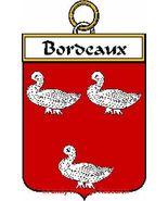 BORDEAUX French Coat of Arms Print BORDEAUX Fam... - $25.00