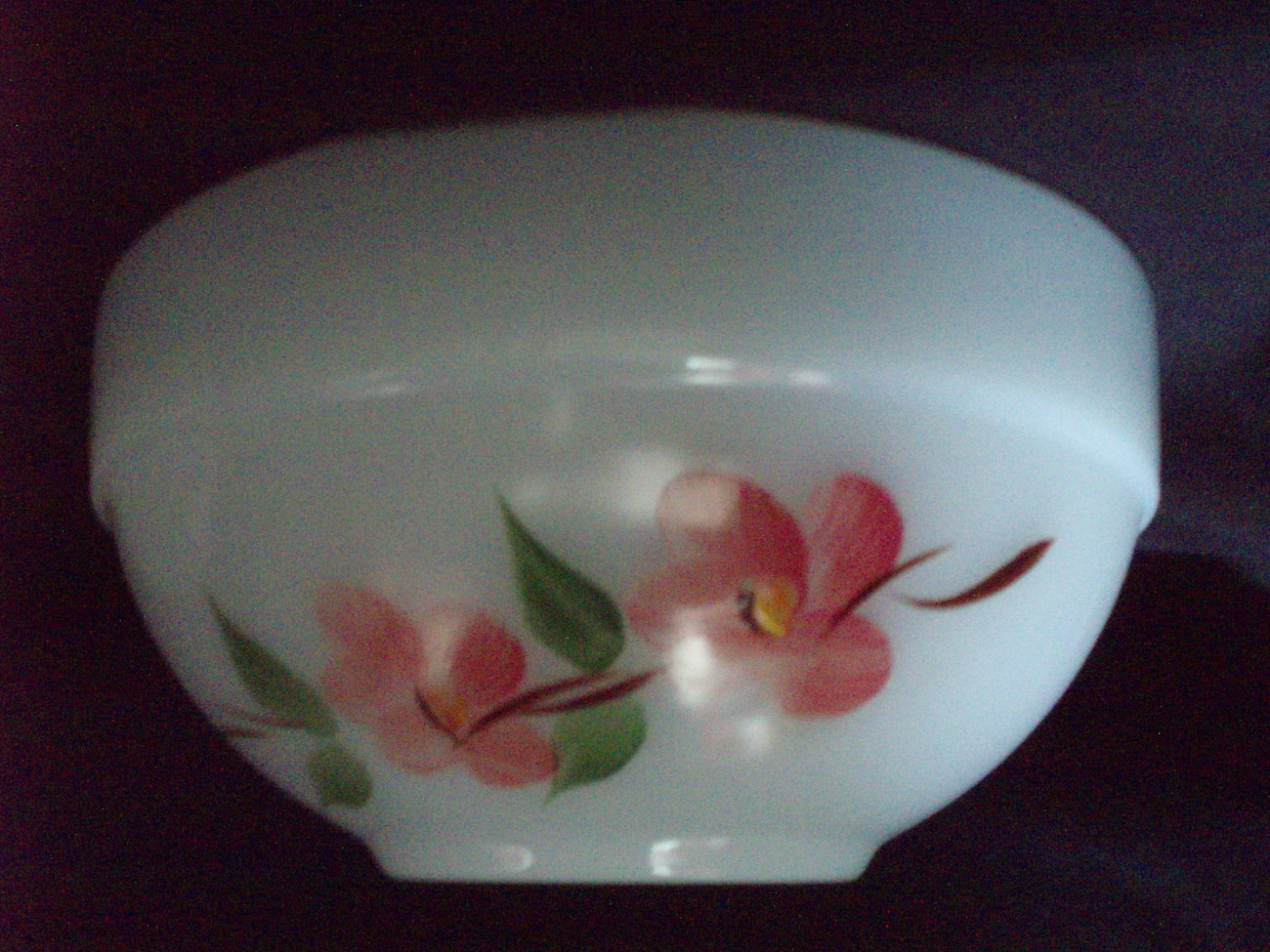 A-H Fire King Pyrex Peach Blossom 6 bowls Gay Fad vintage