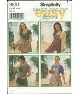 Simplicity 9551 Design Your Own Apron Pattern T... - $6.93