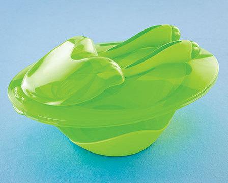 4-Pc. Nuby Easy Go Bowl Sets Green