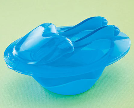 4-Pc. Nuby Easy Go Bowl Sets  Blue