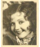 Nancy Carroll Signed PHOTO Paramount-LASKY ENVE... - $14.99