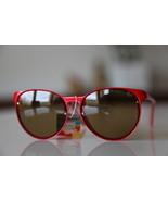 Polaroid Vintage Tortoise Sunglasses Red/ Golde... - $36.00