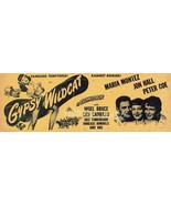 Maria Montez Jon Hall Gypsy Wildcat 1944 Movie ... - $14.99