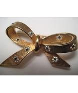 Vintage Kramer Ribbon Bow Brooch  - $22.50