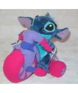Disney Store Lilo And Stitch Plush Stitch On Bi... - $20.00