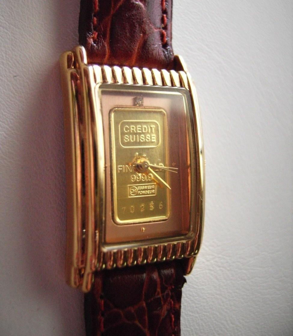 gold credit suisse 999 9 gold bar