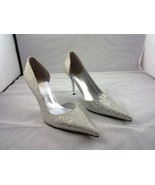 Women's Classic's D'Orsay design Silvery sequin... - $39.99