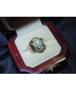 Ladies 14kt yellow & white Gold Rock The Cradle... - $2,700.00