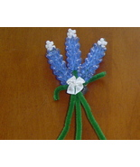 Handcrafted Bead Bluebonnet Magnet - $5.00