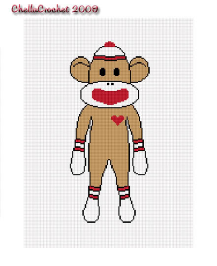Crochet Sock Monkey Pattern - Tim Green Ministries