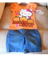 Hello Kitty Top & Kenneth Cole Reaction Shorts ... - $18.00