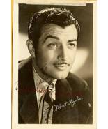 Robert Taylor Hand Autographed Postcard Hollywo... - $19.95