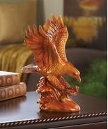 Faux Wooden Eagle Statue - $27.00
