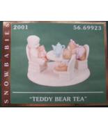 SNOWBABIES THE GUEST COLLECTION TEDDY BEAR TEA - $30.00