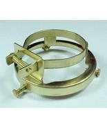 Lamp Shade Holder Brass Plated w/ 2 1/4 in Fitt... - $13.45
