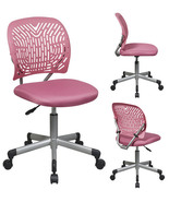 PINK Designer Desk Task Office Swivel Chair - F... - $92.00