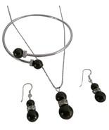 Deep Brown Pearls with Rhinestones Rings Spacer... - $27.68
