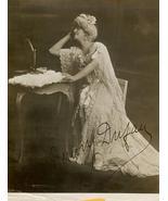 Jenny DUFAU Opera AUTOGRAPHED 1916 Org Promo PH... - $124.99
