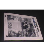 Sheet Music Theme From The Blue And The Gray Bruce Broughton 1982 Golden Torch - $8.99
