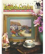 RARE~ANNIE'S~ENGLISH GARDEN SCENES~PLASTIC CANVAS - £13.80 GBP