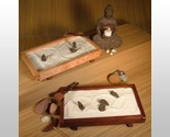 Buy Handcrafted Tabletop Japanese Zen Rock Garden Set Rakes Sand