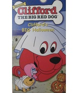 CLIFFORD The Big Red Dog VHS Cliffords Big Hall... - $1.95