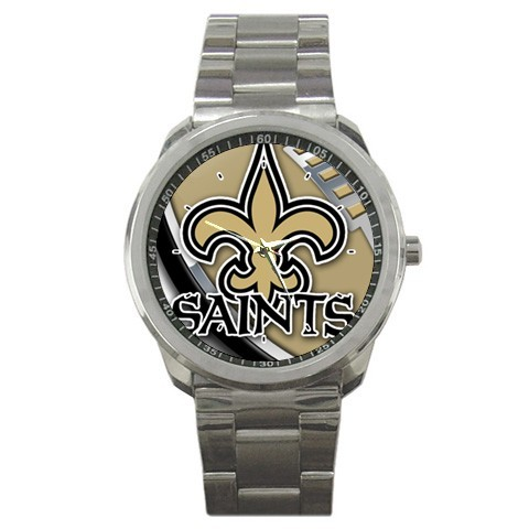 NEW SPORTS WATCH MENS NFL NEW ORLEANS SAINTS