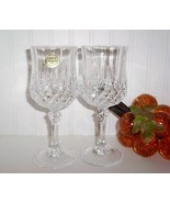 CRISTAL D'ARQUES LONGCHAMP WINE GLASSES - $24.00