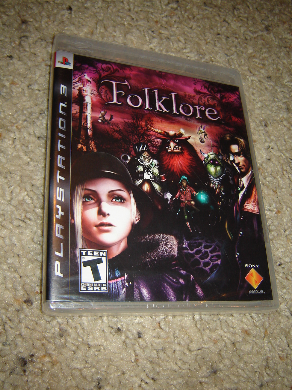 New Action Games For Ps3 : Folklore ps playstation action rpg game new sealed