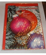 Merry Christmas Ornament Card with 25 Christmas Carol CD