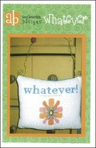Whatever cross stitch chart Amy Bruecken Designs - $5.40