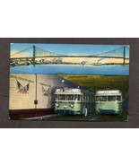Vintage Postcard Detroit Windsor Tunnel Ambassa... - $3.99