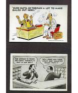 Lot 7 Vintage Novelty Postcards Jokes 1958 1950... - $9.99