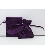 10 Jewelry Pouches Gift Bags 4X6 Purple Satin D... - $9.99