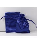 10 Jewelry Pouches Gift Bag 4 X 6 Royal Satin D... - $9.99