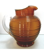 Imperial Glass Company, Line #701, Reeded 80 oz... - $65.00