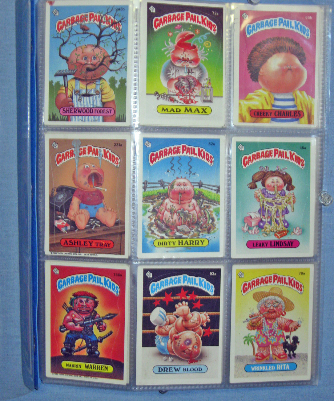 Collector Cards - Garbage Pail Kids  32 cards