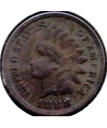 1888 INDIAN HEAD CENT - BRONZE ISSUE - SCARCE D... - $25.00