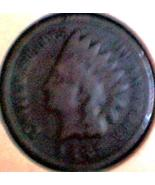 1887 INDIAN HEAD CENT - 125 yt old BRONZE ISSUE... - $4.50