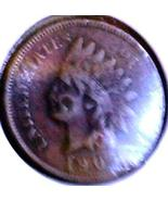 1905 INDIAN CENT  - 108 yr old Issue - Nice VF+... - $6.50