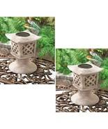 2 Solar Pagoda Lamps - $44.00