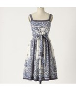 NEW Anthropologie Catmint Cotton Dress 4/S $148 - $79.99