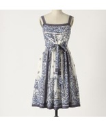 NEW Anthropologie Catmint Cotton Dress 6P/S $148 - $79.99