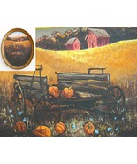 Amish Country Farm Original Painting Wisconsin ... - $54.95