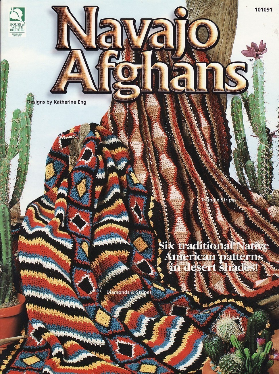 Navajo Afghan Crochet Pattern – Download Indian Afghan Navajo